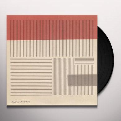 Preoccupations KEY B/W OFF DUTY TRIP Vinyl Record - UK Release