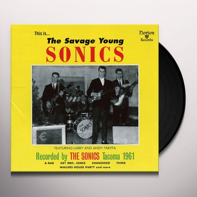 SAVAGE YOUNG SONICS Vinyl Record