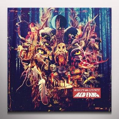 Red Fang WHALES & LEECHES (METALLIC GOLD VINYL) Vinyl Record - Colored Vinyl