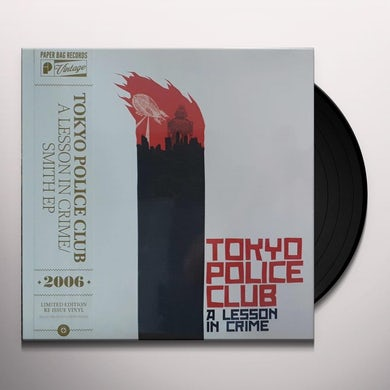 Tokyo Police Club LESSON IN CRIME / SMITH Vinyl Record