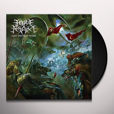 Hour Of Penance CAST THE FIRST STONE Vinyl Record - UK Release