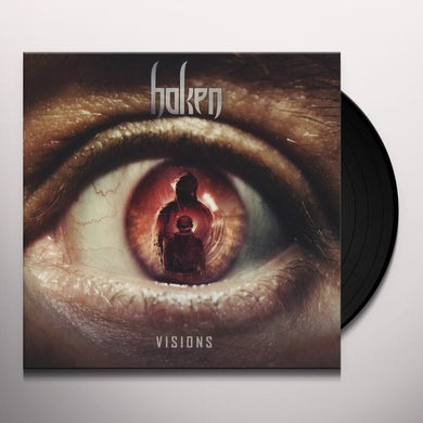 Haken VISIONS (ORANGE VINYL) Vinyl Record