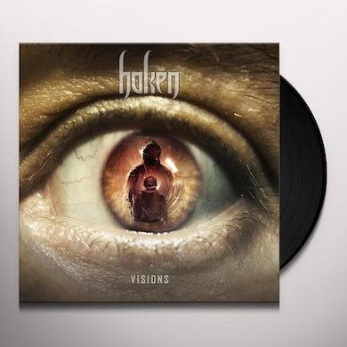 Haken VISIONS (WHITE VINYL) Vinyl Record