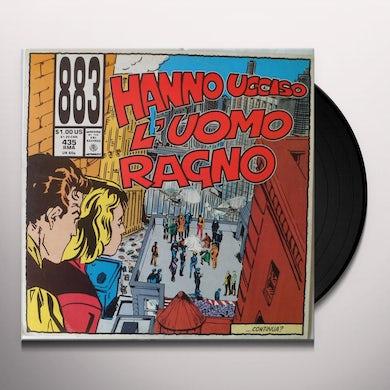 883 HANNO UCCISO L'UOMO RAGNO Vinyl Record - Italy Release