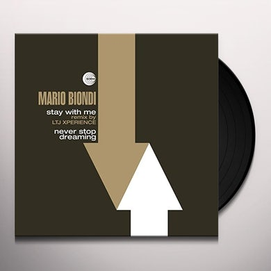 Mario Biondi STAY WITH ME (REMIX BY LTJ XPERIENCE) / NEVER STOP Vinyl Record