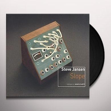 Steve Jansen SLOPE (10TH ANNIVERSARY VINYL EDITION) Vinyl Record