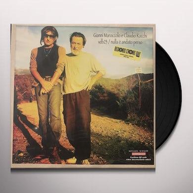 Gianni Maroccolo NULLA E ANDATO PERSO Vinyl Record