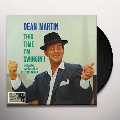Dean Martin THIS TIME I'M SWINGIN + 4 BONUS TRACKS Vinyl Record
