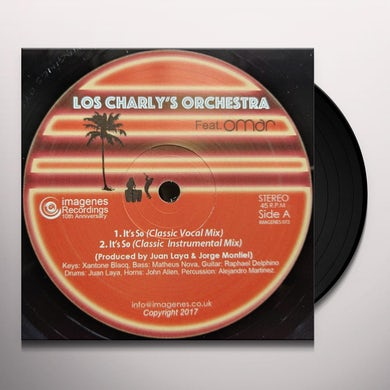 Los Charly's Orchestra IT'S SO / HISTORY Vinyl Record