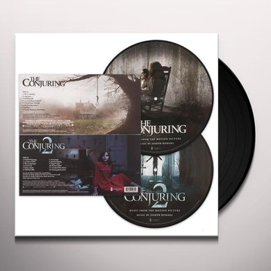 MUSIC FROM THE CONJURING 1 & 2 (PICTURE DISC) Vinyl Record