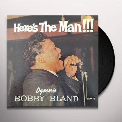 Bobby Bland HERE'S THE MAN Vinyl Record