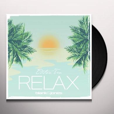 Blank & Jones RELAX EDITION TEN Vinyl Record