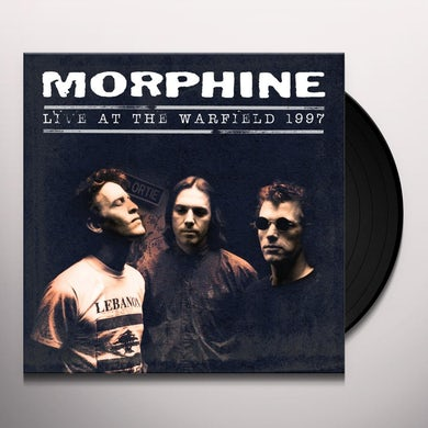 Morphine LIVE AT THE WARFIELD 1997 Vinyl Record
