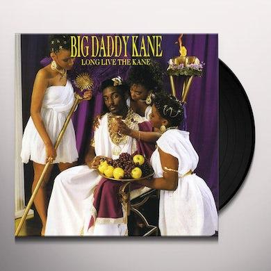 Big Daddy Kane LONG LIVE THE KANE Vinyl Record