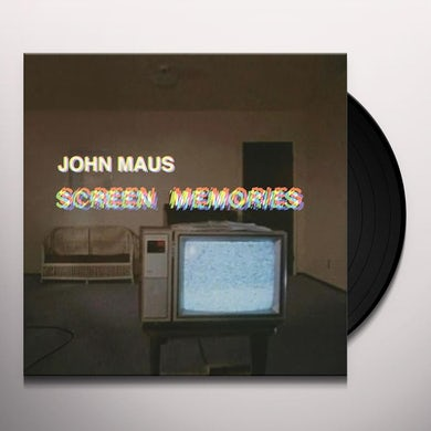 John Maus SCREEN MEMORIES Vinyl Record