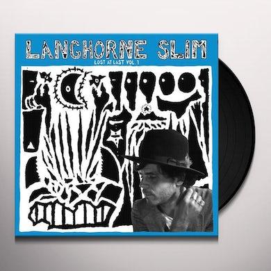 Langhorne Slim LOST AT LAST VOL 1 Vinyl Record