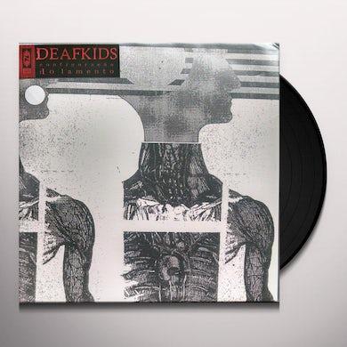 Deaf Kids CONFIGURACAO DO LAMENTO Vinyl Record