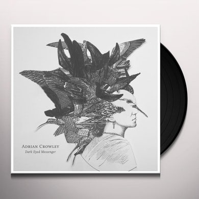Adrian Crowley DARK EYED MESSENGER Vinyl Record