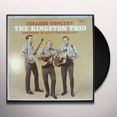 Kingston Trio COLLEGE CONCERT Vinyl Record