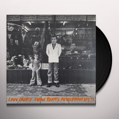 Ian Dury NEW BOOTS & PANTIES (COLORED VINYL) Vinyl Record