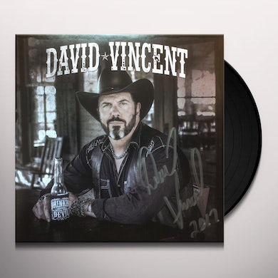 David Vincent DRINKIN WITH THE DEVIL Vinyl Record