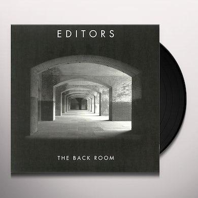 Editors BACK ROOM Vinyl Record