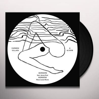 Carmen Villain BORDERS / RED DESERT Vinyl Record