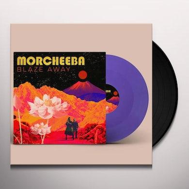 Morcheeba BLAZE AWAY (LILAC VINYL) Vinyl Record