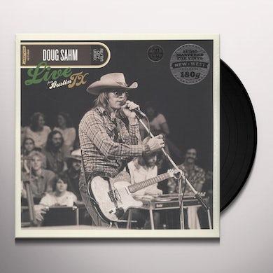 Doug Sahm LIVE FROM AUSTIN TX Vinyl Record