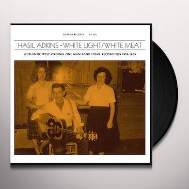 Hasil Adkins WHITE LIGHT / WHITE MEAT Vinyl Record
