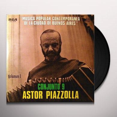Astor Piazzolla CONJUNTO 9 VOL 1 Vinyl Record