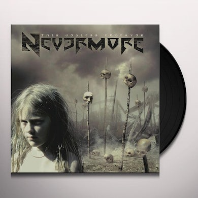 Nevermore THIS GODLESS ENDEAVOR Vinyl Record