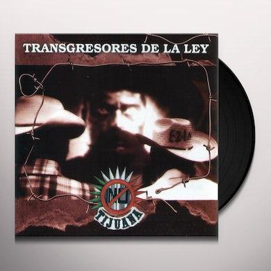 Tijuana No TRANSGRESORES DE LA LEY Vinyl Record