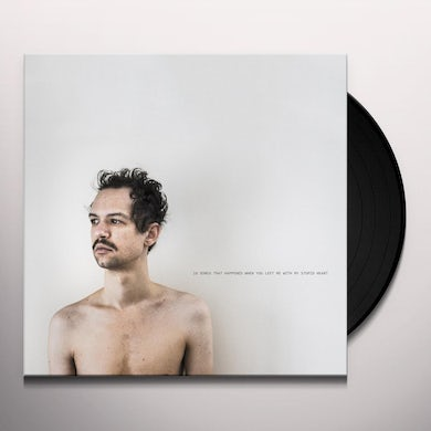 Darwin Deez 10 SONGS THAT HAPPENED WHEN YOU LEFT ME WITH MY Vinyl Record