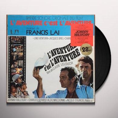 Francis Lai L'AVENTURE C'EST AVENTURE / O.S.T. Vinyl Record