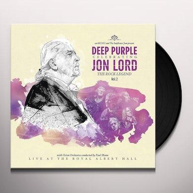 CELEBRATING JON LORD: THE ROCK LEGEND VOL 1 Vinyl Record
