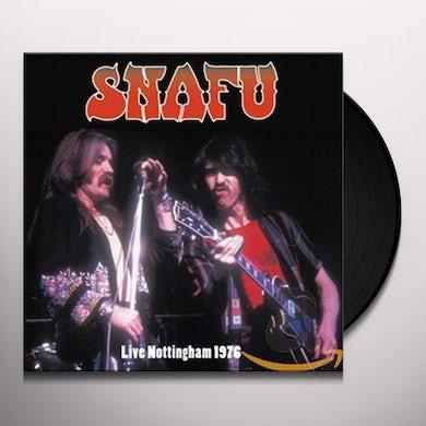 Snafu LIVE NOTTINGHAM 1976 Vinyl Record