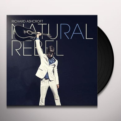 Richard Ashcroft NATURAL REBEL Vinyl Record