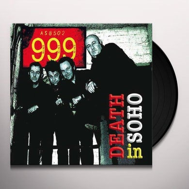 999 DEATH IN SOHO Vinyl Record