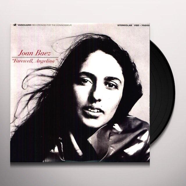 Joan Baez FAREWELL ANGELINA Vinyl Record