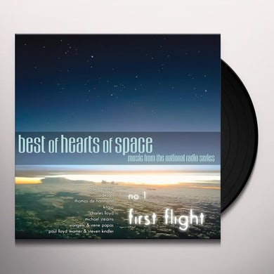 BEST OF HEARTS OF SPACE: NO. 1 - FIRST FLIGHT / VA Vinyl Record