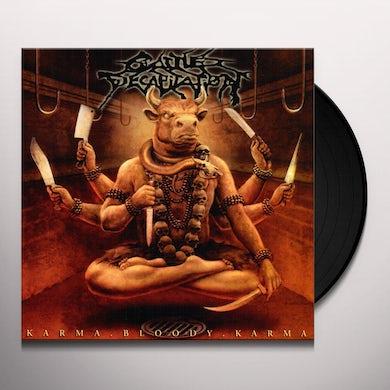 Cattle Decapitation KARMA BLOODY KARMA Vinyl Record