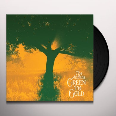 Antlers GREEN TO GOLD Vinyl Record
