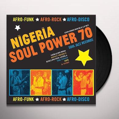 Soul Jazz Records Presents Nigeriasoul power 70: afro funk rock disco Vinyl Record