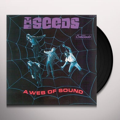The Seeds WEB OF SOUND Vinyl Record
