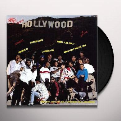 HOLLYWOOD LIVE / VARIOUS Vinyl Record