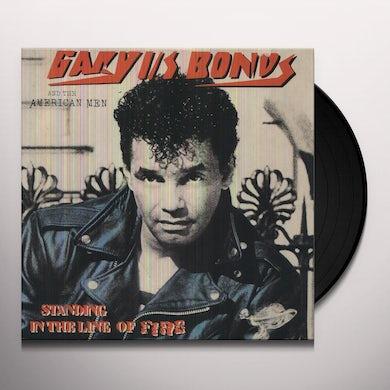 Gary U.S. Bonds STANDING IN THE LINE OF FIRE Vinyl Record