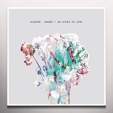 Sleater-Kinney NO CITIES TO LOVE Vinyl Record - Deluxe Edition, Gatefold Sleeve, 180 Gram Pressing, Poster, White Vinyl