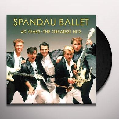 Spandau Ballet 40 YEARS: THE GREATEST HITS Vinyl Record