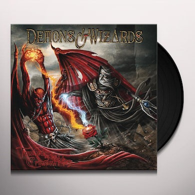 Demons & Wizards TOUCHED BY THE CRIMSON KING Vinyl Record